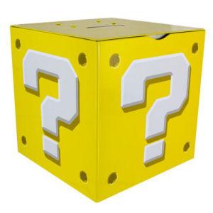 Super Mario Bros. Question Block Money Box Bank