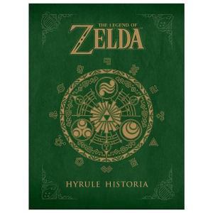 The Legend of Zelda Hyrule Historia Hardcover Book