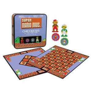 Super Mario Bros Classic Checkers