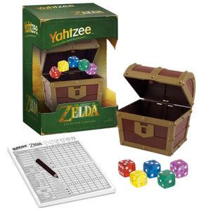 The Legend of Zelda Yahtzee Game