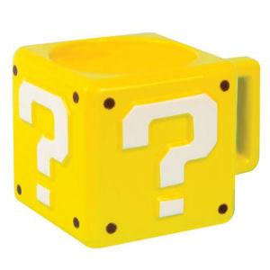 Super Mario Bros. Question Block Mug
