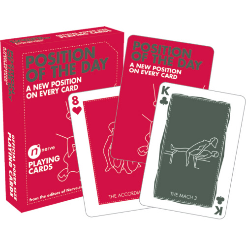 Position of the Day Playing Cards.