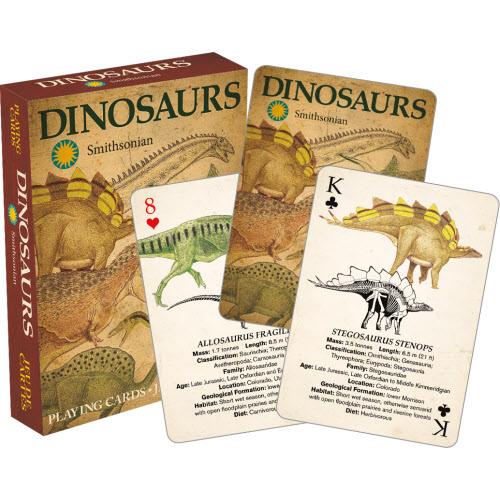 Smithsonian Dinosaur Playing Cards