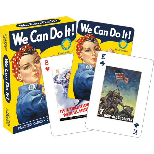 Smithsonian War Posters Playing Cards.