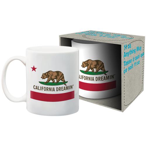 California Dreamin 11 Ounce Boxed Mug.