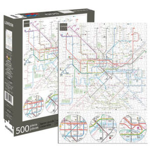 London Underground Map 500 Piece Puzzle