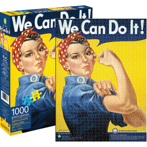Rosie the Riveter 1000 Piece Puzzle.
