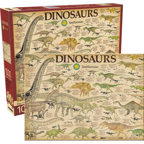 Smithsonian Dinosaurs 1000 Piece Puzzle.