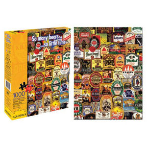 So Many Beers 1000 Piece Puzzle