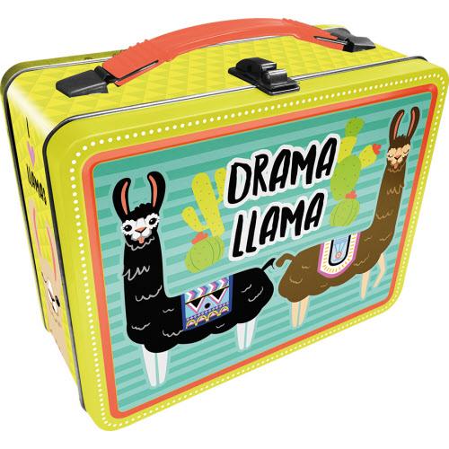 Drama Llama Gen 2 Fun Box Lunchbox Tin Tote
