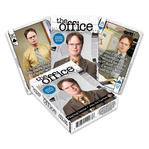 The Office Dwight Quotes Playing Cards.