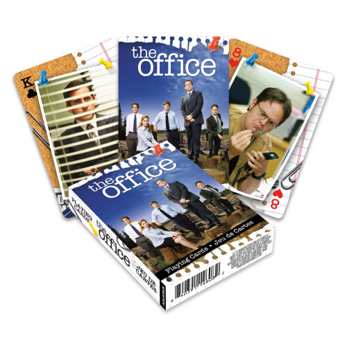 The Office Cast Playing Cards.
