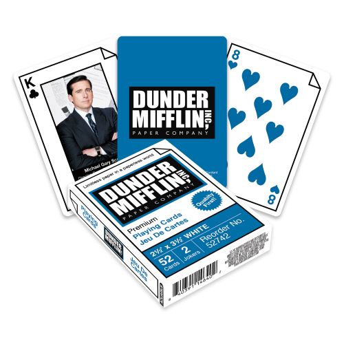 The Office Salesmen Playing Cards.
