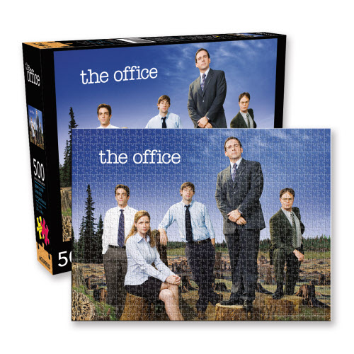 The Office Forest 500 Piece Puzzle