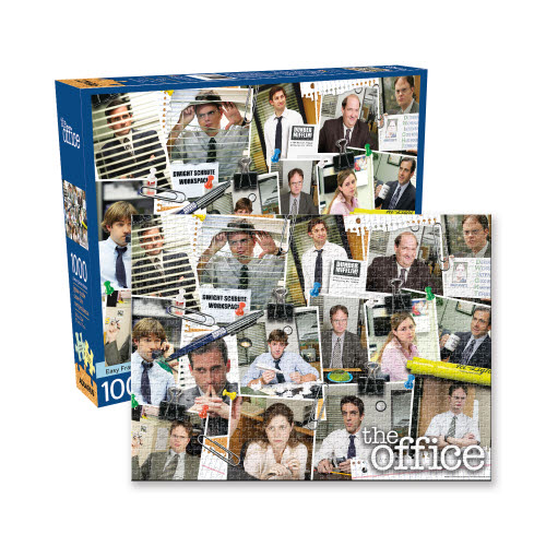 The Office Cast Collage 1000 Piece  Puzzle.
