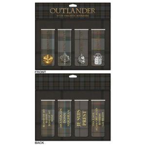 Outlander Magnetic Bookmark Set