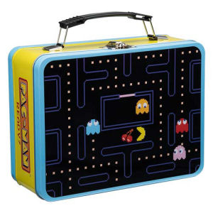 Pac-Man Lunch Box Large Tin Tote