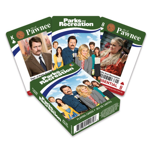 Parks and Recreation Playing Cards.