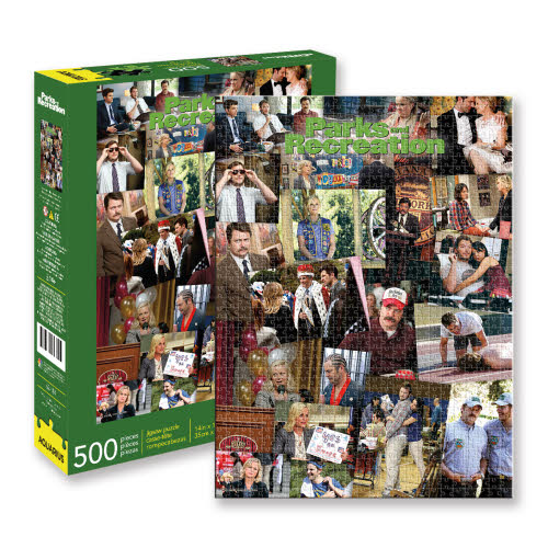 Parks and Recreation 500 Piece Puzzle.