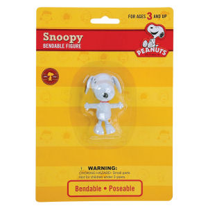 Snoopy 3 inch Bendable Figurine