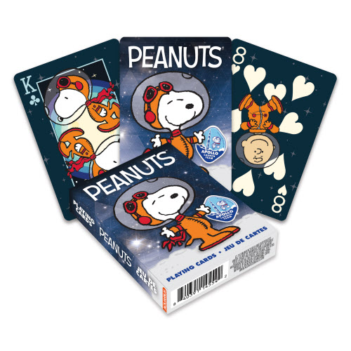 Snoopy In Space Playing Cards