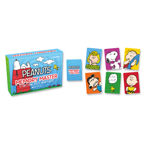 Peanuts Memory Master Card Game.