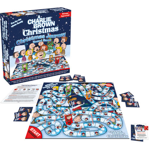 Peanuts Charlie Brown Christmas Board Game.
