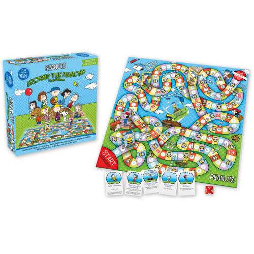 Peanuts Around The Diamond Board Game.