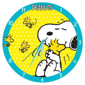 Peanuts 13.5 Inch Wood Wall Clock