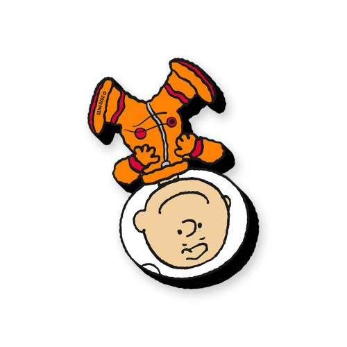 Charlie Brown In Space Funky Chunky Magnet.