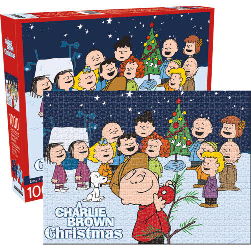 Peanuts Charlie Brown Christmas 1000 Piece Puzzle