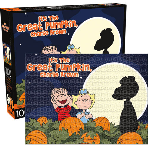 Peanuts Great Pumpkin 1000 Piece Puzzle.