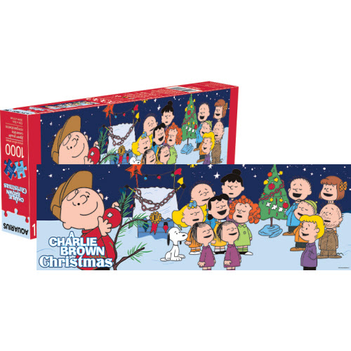 Charlie Brown Christmas 1000 Piece Slim Puzzle