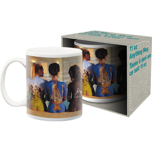 Pink Floyd Back Art 11 Ounce Boxed Mug.