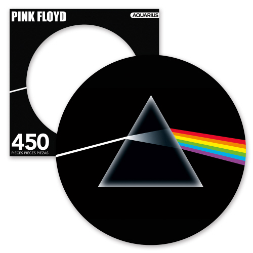 Pink Floyd Dark Side 450 Piece Picture Disc Puzzle.