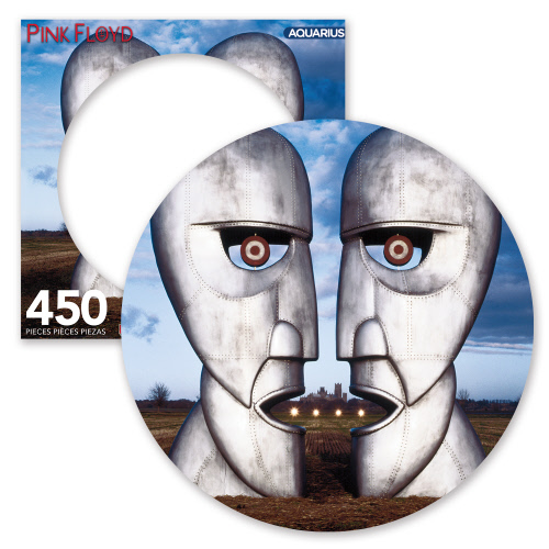 Pink Floyd Division Bell 450 Piece Picture Disc Puzzle.