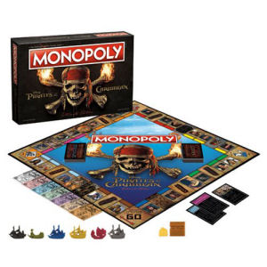 Pirates of the Caribbean Ultimate Edition Monopoly Game