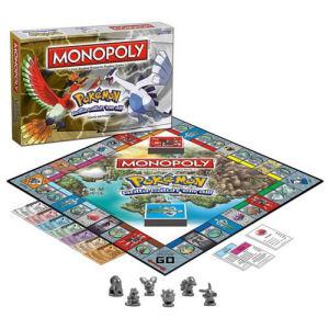Pokemon Johto Monopoly Game