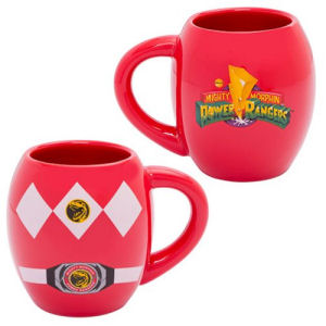Power Rangers 18 Ounce Ceramic Oval Mug