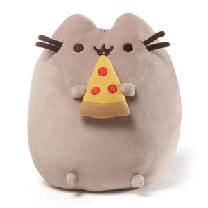 Pusheen the Cat Pizza Snackable 9.5 Inch Plush