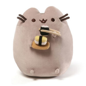 Pusheen the Cat Sushi Snackable 9.5 Inch Plush