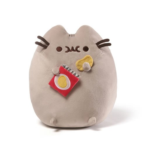 Pusheen the Cat Chips Snackable 9.5 Inch Plush