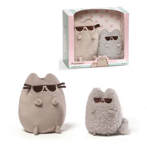 Pusheen the Cat Sunglasses Collector Set Plush