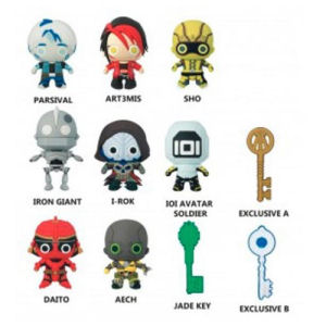 Ready Player One 3-D Figural Key Chain Master Carton