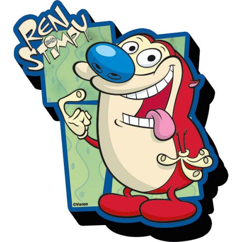 Ren and Stimpy Stimpy Funky Chunky Magnet.