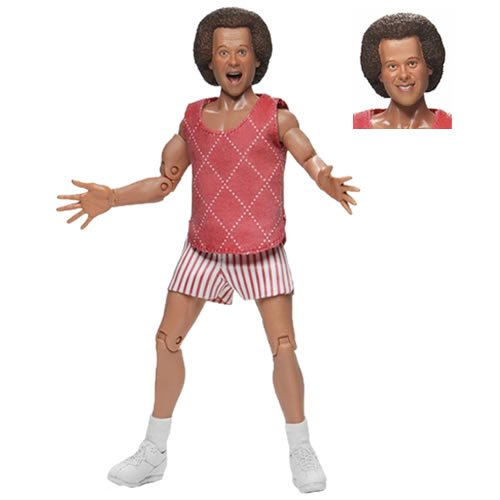 Richard Simmons 8 Inch Retro Clothed Action Figure