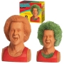 Richard Simmons Chia Pet.The handmade decorative planter comes to life in days, with full growth in 1-2 weeks using the simple included instructions.