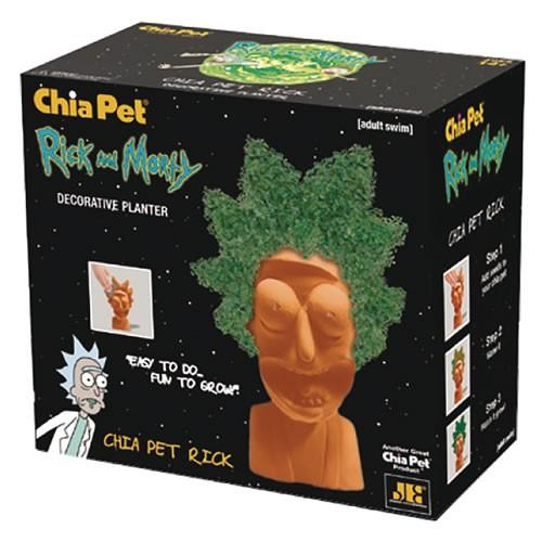 Rick And Morty Rick Chia Pet.