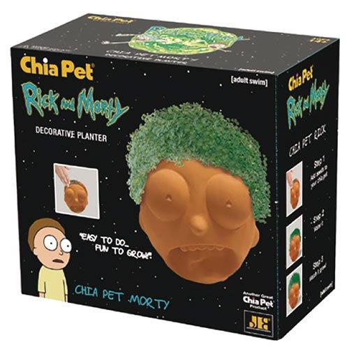 Rick And Morty Morty Chia Pet.