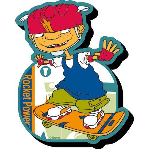 Rocket Power Twister Funky Chunky Magnet.